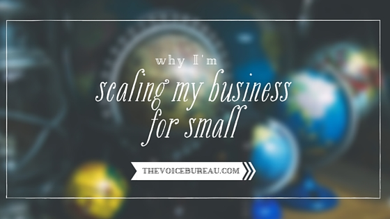 scaling my business for small