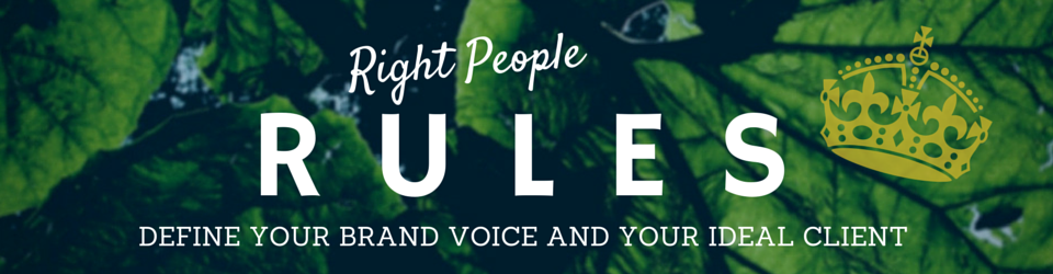 Right People Rules by The Voice Bureau page header image