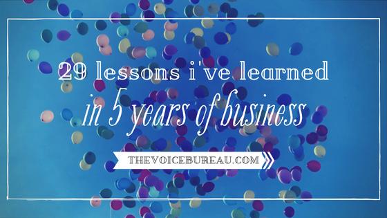 29 Lessons - Blog
